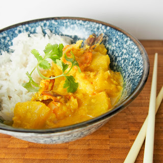 Nonya Shrimp And Pineapple Curry