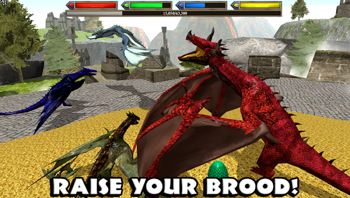 Ultimate Dragon Simulator- screenshot