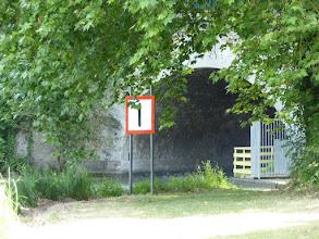 Photo: Canal de Chalifert sortie du tunnel côté Chalifert  (le canal relie la Marne à ...la Marne, canal latéral à la Marne, évite 16 km de méandres de la Marne)