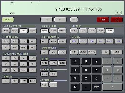 HiPER Scientific Calculator screenshot 12