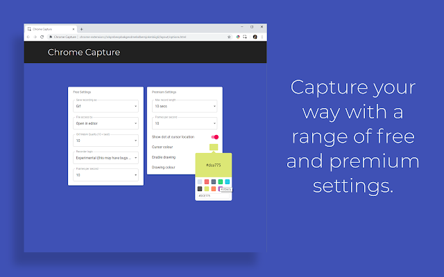 Chrome Capture - Chrome Web Store