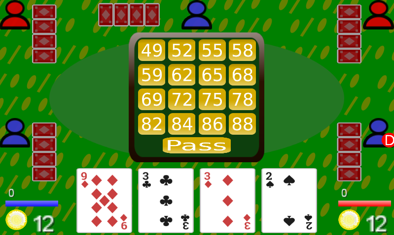 88 Card Game- screenshot