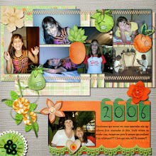 Photo: Citric by ScrapDesafios Get Hooked by Cinnamon Designs Font Gabriola PS CS5