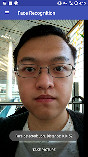 Face Recognition Application- screenshot thumbnail
