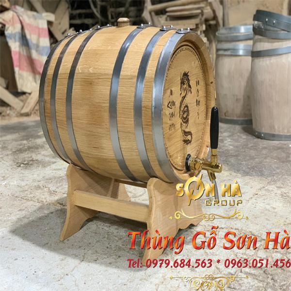 Đánh giá thùng gỗ sồi Nga của Sơn Hà