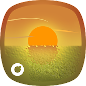Sunset - Solo Launcher Theme