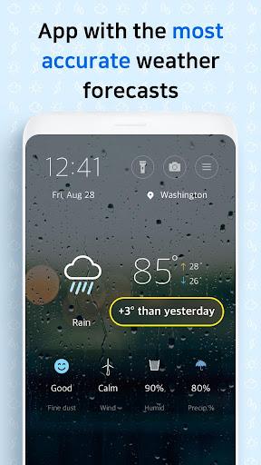 First Weather screenshot 1