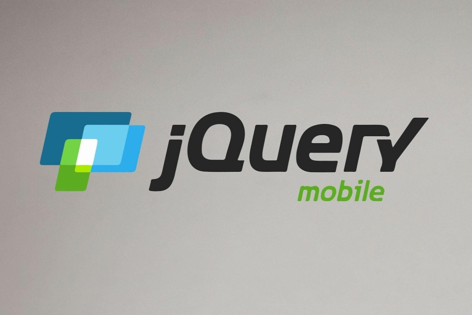 jquery mobile javascript framework