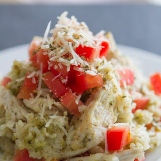 Pesto Chicken & Rice Casserole