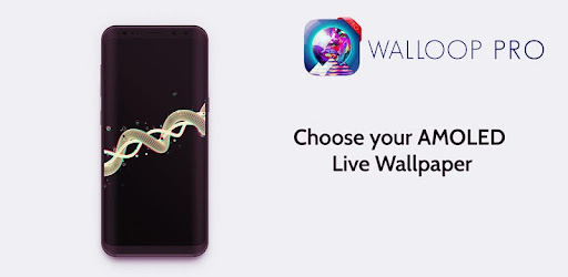 Amoled 4K Live Wallpapers 3D: Walloop Pro app for Android screenshot