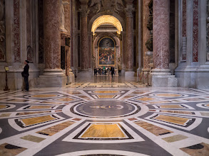 Photo: It turns out that there is more than a bit or marble in St. Peters