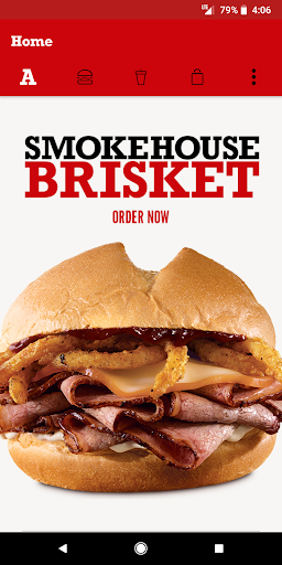 Screenshot for Arby's in United States Play Store