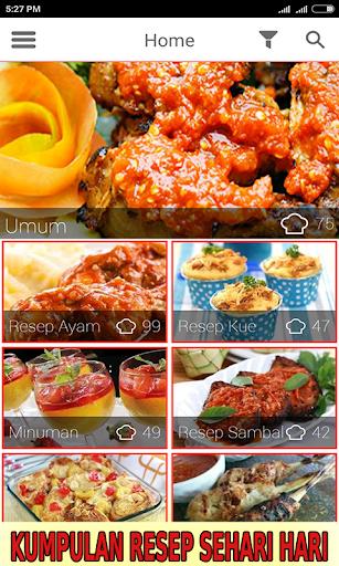 Resep Masakan Rumah Sederhana  screenshots 1
