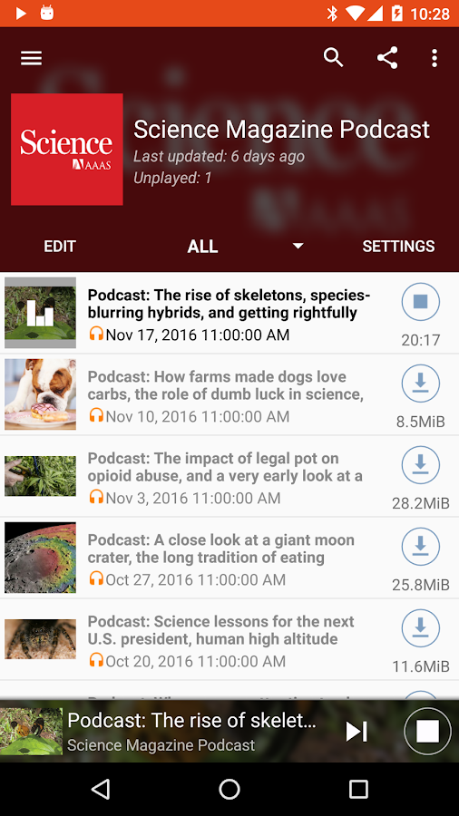 Podcast Republic- screenshot