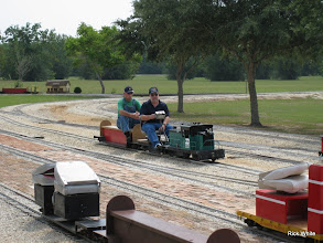 Photo: Ken Smith and Dennis Cody with Ken's BN 6105