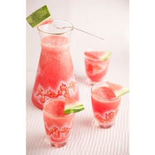 Watermelon and Lemon Sorbet Cooler Recipe by Paula Deen.