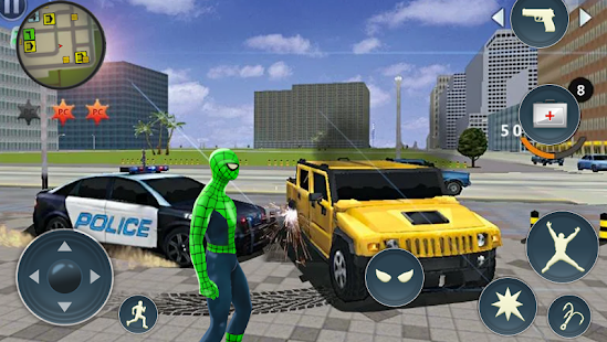Spider Rope Hero - Gangster Crime City Screenshot