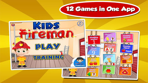 Kids Fire Truck Fun Games  screenshots 1