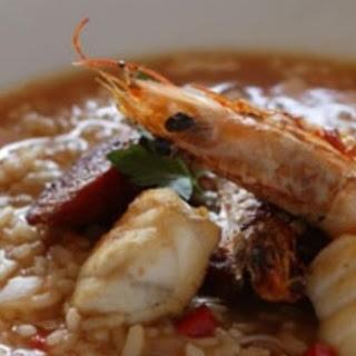 Portuguese Seafood Rice.
