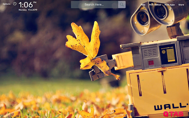 WALL E Wallpapers New Tab Background