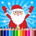 Christmas Drawing Pad - Santa icon