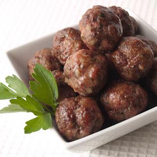 Paleo Czech Meatballs