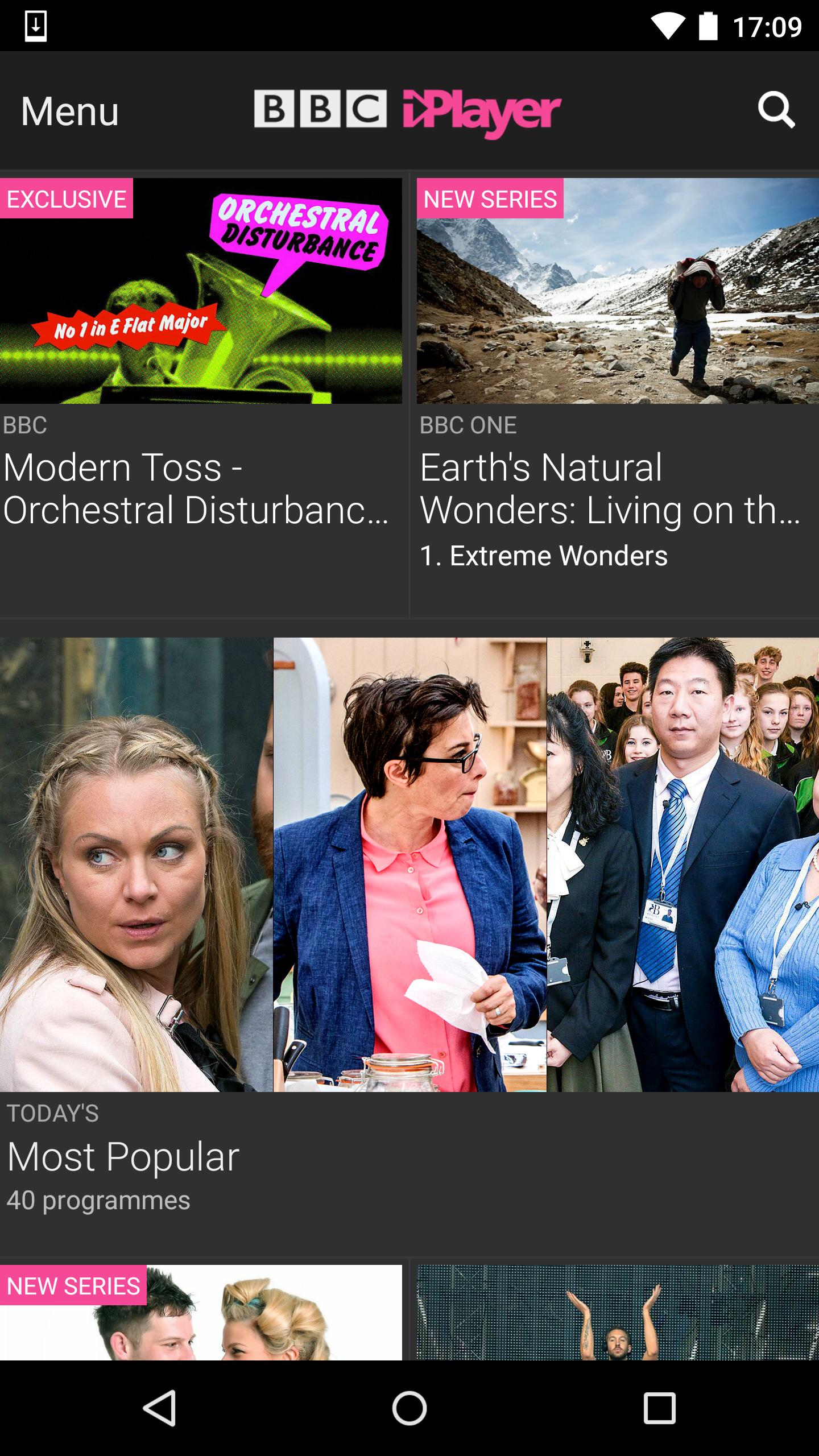 BBC iPlayer screenshot #1