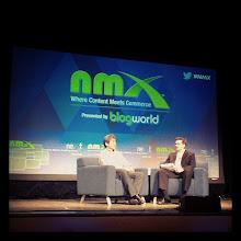 Photo: @guykawasaki  on stage! #nmx