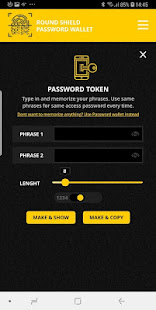 Download Roundshield password generator and wallet For PC Windows and Mac apk screenshot 3