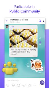 Viber Messenger Group Chat Call v13.8.3.2 MOD APK 6