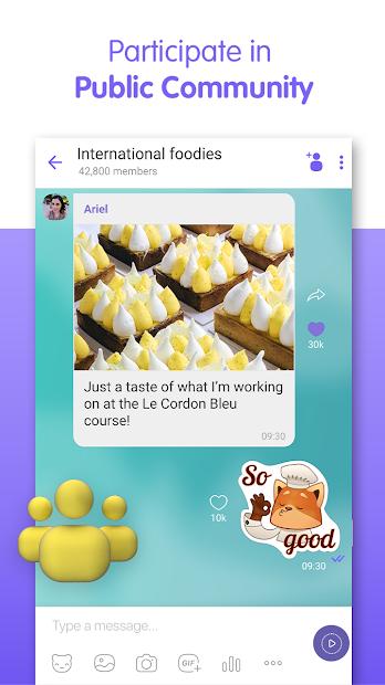 Screenshot - Viber Messenger – Messages, Group Chats Calls