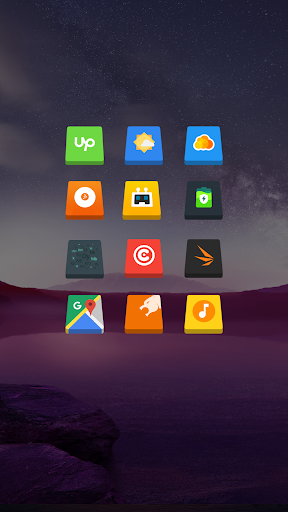 3D Icon Pack Apps for Android screenshot