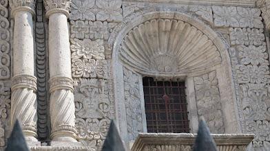 Photo: Detalle de la frontera de la iglesia de La Compañia