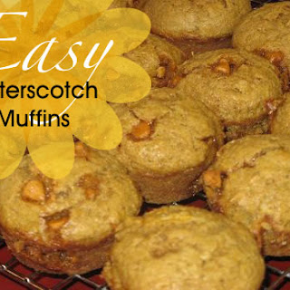 3-Ingredient Butterscotch Muffins