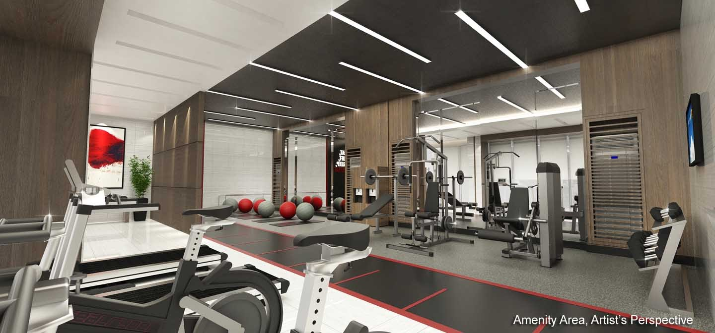 Red Residences, Chino Roces, Makati fitness gym