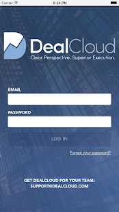 DealCloud - náhled