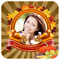 Thanksgiving frames & Greeting icon
