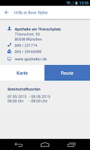Notdienste-Finder Bayern screenshot 4