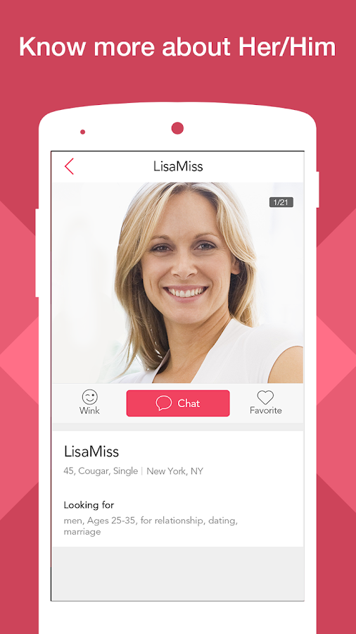 online dating app for old women Evidence shows more ladies are embracing their inner cougar when it comes to dating, there's an unscientific, but prevailing opinion that older men want younger women and vice versa.