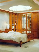 Photo: Schlafzimmer Allsystem ALBRECHT, Türform Tiffany