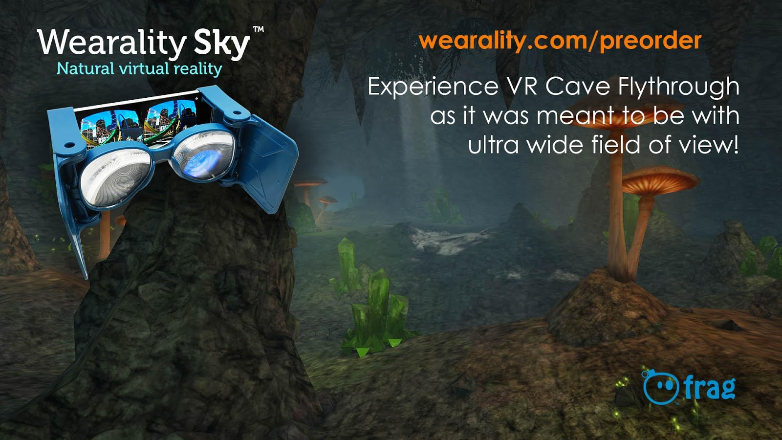 VR Cave Flythrough- screenshot