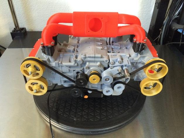 Автолюбитель напечатал на 3D-принтере модель двигателя Chevrolet Camaro
