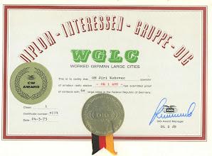 Photo: wkd for CW plaque