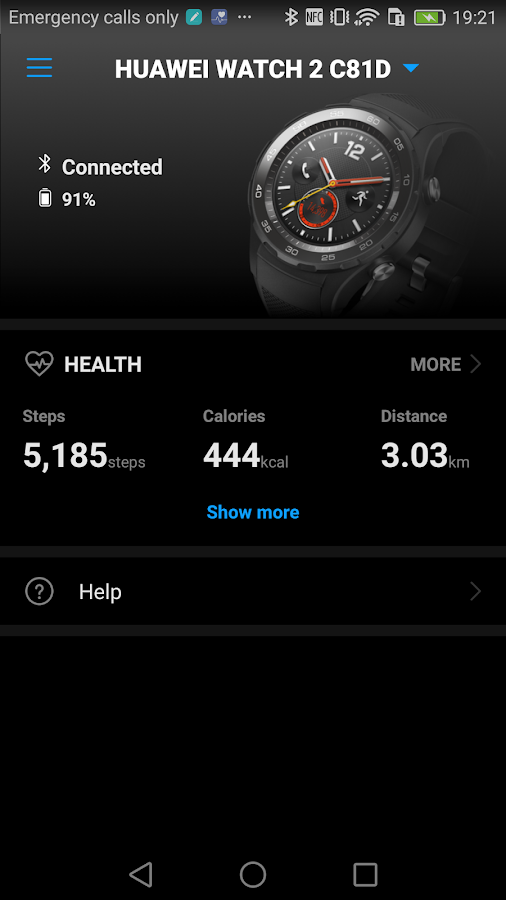 Huawei Wear- screenshot