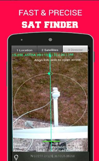 Satellite Finder - Dish Pointer by nabil fawzi (Google Play