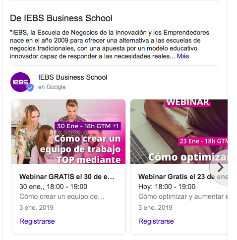 Google My Business y SEO Local