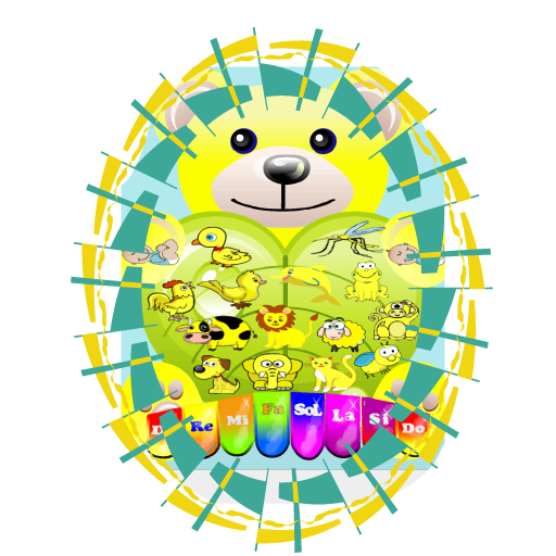 Piano Yellow Bear 音樂 App LOGO-APP開箱王