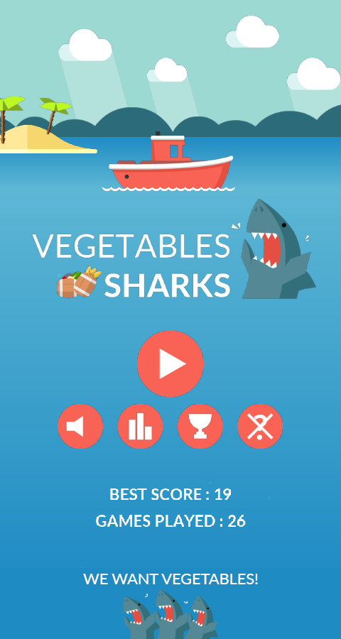 Vegetables Sharks- screenshot