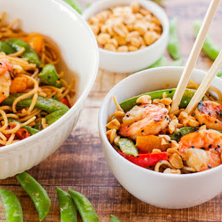 Chilled Oriental Sesame Noodles.