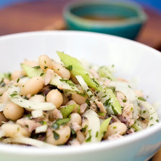 Italian Marrow Beans with Tuna.